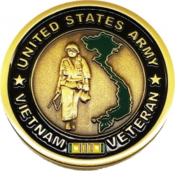 View Buying Options For The United States Army Vietnam Veteran Challenge Coin
