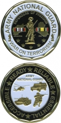 View Buying Options For The US Army National Guard War On Terrorism Challenge Coin