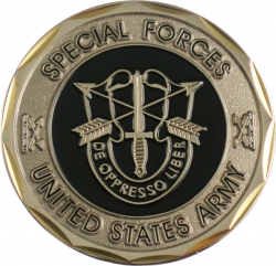 View Buying Options For The Special Forces De Oppresso Liber Challenge Coin