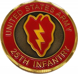 View Buying Options For The 25th Infantry Division Tropic Lightning Challenge Coin