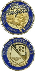 View Buying Options For The US Navy Blue Angels Challenge Coin