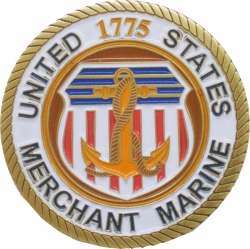 View Buying Options For The United States Merchant Marine Heave Ho Challenge Coin