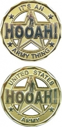 View Buying Options For The Hooah Its An Army Thing Cutout Challenge Coin