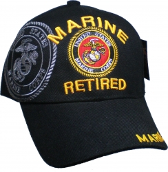 View Buying Options For The Marine Retired Shadow Mens Cap