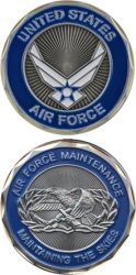 View Buying Options For The United States Air Force Maintenance Challenge Coin