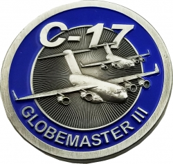 View Buying Options For The United States Air Force C-17 Globemaster III Challenge Coin