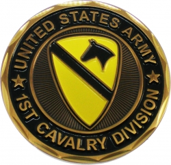 View Buying Options For The United States Army 1st Cavalry Division The First Team Challenge Coin