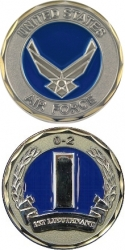 View Buying Options For The United States Air Force 1st Lieutenant 0-2 Challenge Coin