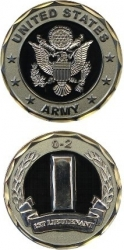 View Buying Options For The United States Army 1st Lieutenant 0-2 Challenge Coin