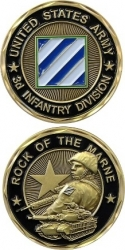 View Buying Options For The United States Army 3rd Infantry Division Rock of the Marne Challenge Coin