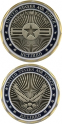 View Buying Options For The United States Air Force Retired Challenge Coin
