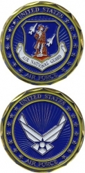 View Buying Options For The United States Air Force Air National Guard Challenge Coin