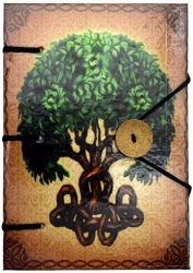 View Buying Options For The Tree of Life Handmade Journal