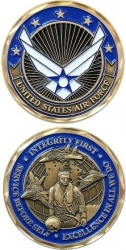 View Buying Options For The United States Air Force Values Challenge Coin