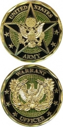 View Buying Options For The United States Army Warrant Officer Challenge Coin