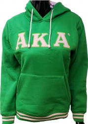 View Buying Options For The Alpha Kappa Alpha 1908 Applique Pullover Ladies Hoodie