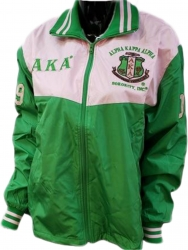 View Buying Options For The Alpha Kappa Alpha Ladies Track Jacket