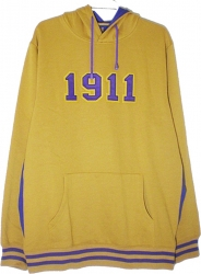 View Buying Options For The Omega Psi Phi 1911 Applique Pullover Mens Hoodie