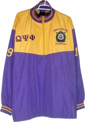 View Buying Options For The Omega Psi Phi Escutcheon Shield Mens Track Jacket