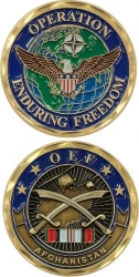 View Buying Options For The Operation Enduring Freedom OEF Afghanistan Challenge Coin