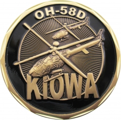 View Buying Options For The United States Army OH-58D Kiowa Challenge Coin