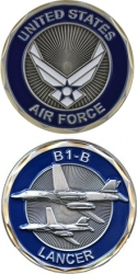 View Buying Options For The United States Air Force B1-B Lancer Challenge Coin