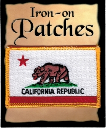 View Buying Options For The California State Flag Iron-On Patch [Pre-Pack]