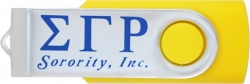 View Buying Options For The Sigma Gamma Rho Sorority Inc. 4GB USB 2.0 Flash Jump Drive
