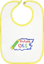 View Buying Options For The Eastern Star Future OES Emblem Baby Infant Bib