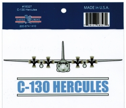 View Buying Options For The C-130 Hercules Outside Car Decal Sticker [Pre-Pack]