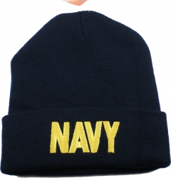 View Buying Options For The US Navy Text Cuff Beanie Watch Cap