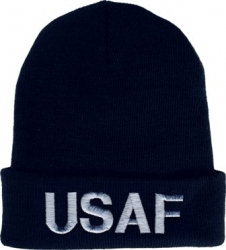 View Buying Options For The US Air Force Letters Cuff Beanie Mens Watch Cap