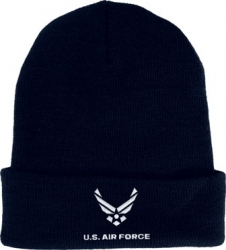 View Buying Options For The U.S. Air Force Hap Arnold Wings Logo Cuff Beanie Watch Cap
