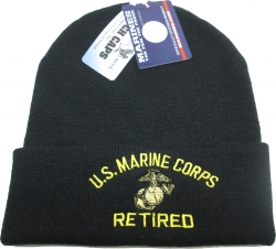 View Buying Options For The US Marine Corps Retired Cuff Beanie Mens Watch Cap