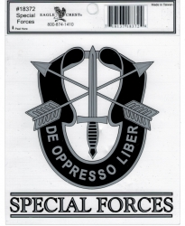 View Buying Options For The Special Forces Outside Car Decal Sticker [Pre-Pack]