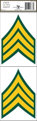 View Buying Options For The U.S. Army Sergeant Outside Car Decal Sticker [Pre-Pack]