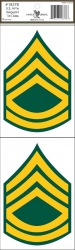 View Buying Options For The U.S. Army Sergeant 1st Class Outside Car Decal Sticker [Pre-Pack]