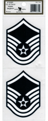 View Buying Options For The U.S. Air Force Master Sergeant Outside Car Decal Sticker [Pre-Pack]
