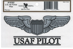 View Buying Options For The US Air Force Pilot Outside Car Decal Sticker [Pre-Pack]