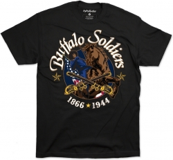 View Buying Options For The Big Boy Buffalo Soldiers Commemorative S22 Mens Tee