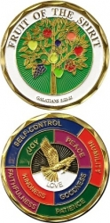 View Buying Options For The Fruit of the Spirit Challenge Coin