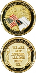 View Buying Options For The Onward Christian Soldier Spirit Challenge Coin