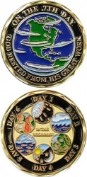 View Buying Options For The The 7 Days of Creation Spirit Challenge Coin