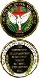 View Buying Options For The John 3:16 Spirit Challenge Coin