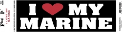 View Buying Options For The I Love/Heart My Marine Car Bumper Sticker [Pre-Pack]