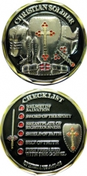 View Buying Options For The Christian Soldier Checklist Spirit Challenge Coin