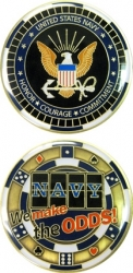 View Buying Options For The US Navy Casino Challenge Coin
