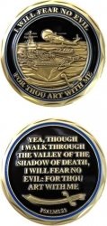 View Buying Options For The US Navy Psalms 23 Spirit Challenge Coin