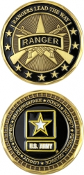 View Buying Options For The US Army Ranger Standard Challenge Coin