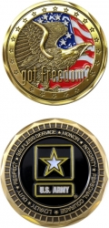 View Buying Options For The US Army Got Freedom? Challenge Coin